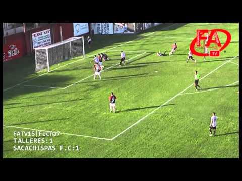 FATV 15 Fecha 7 - Talleres 3 - Sacachispas 1