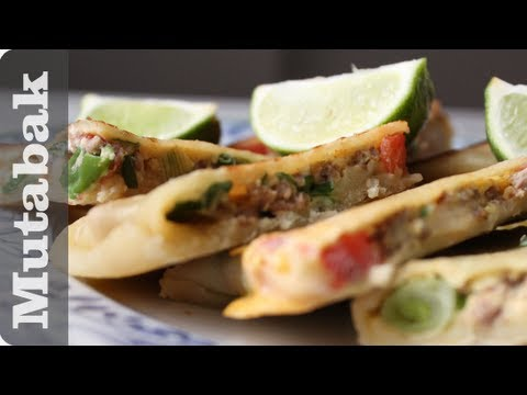 Amazing Arab Street Food! - Martabak (Mutabak) Recipe