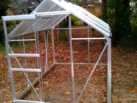 Harbor freight greenhouse 6x8