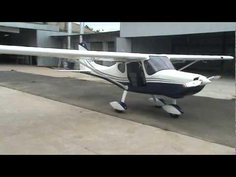Ultraleve Conquest 180 da inpaer com motor rotax 912 velocidade de cruzeiro 125mph, prefixo PU-PTR