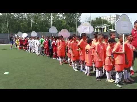 Открытие футбольного турнира Кубок Алтая