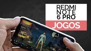 Redmi Note 6 Pro - TESTANDO JOGOS - FREEFIRE PUBG ARK ASPHALT