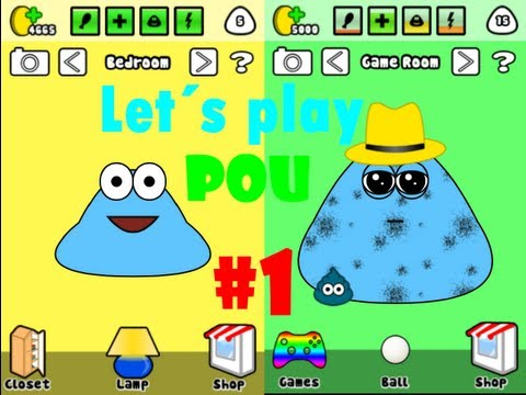 Let´s play Pou - iPod #1 - armer Pou [HD/Deutsch]