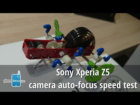 Sony Xperia Z5 camera autofocus speed test: so, how fast is it?