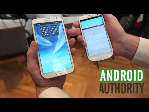 Samsung Galaxy Note 2 VS Galaxy S3