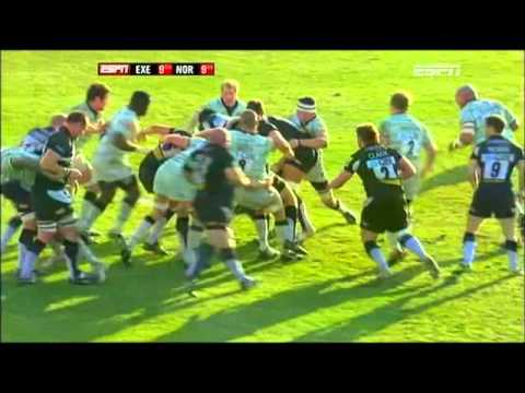 Aviva Premiership Highlights 2011 - Exeter Chiefs v Northampton Saints - Aviva Premiership Rugby 201