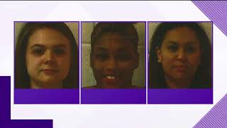 Three women charged with exploiting elderly, disabled woman
