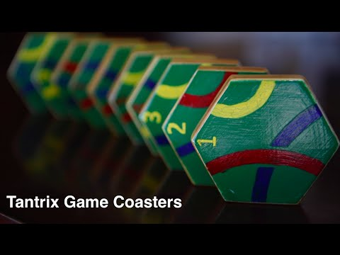 How To Make Game Coasters - Tantrix Tile Game