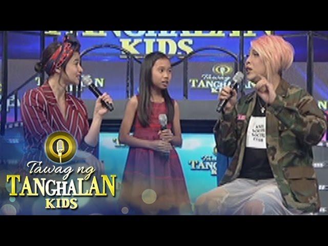 Tawag ng Tanghalan Kids: Vice tries vocalizing