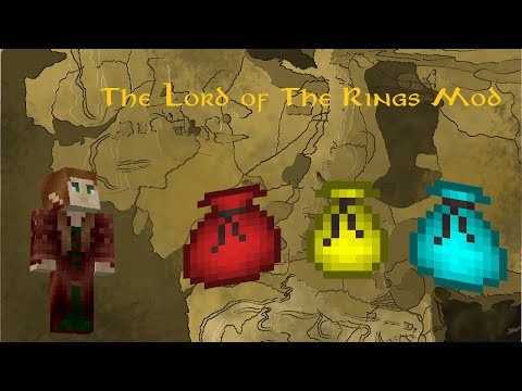 Minecraft The Lord of The Rings Mod: Customisable Pouches!