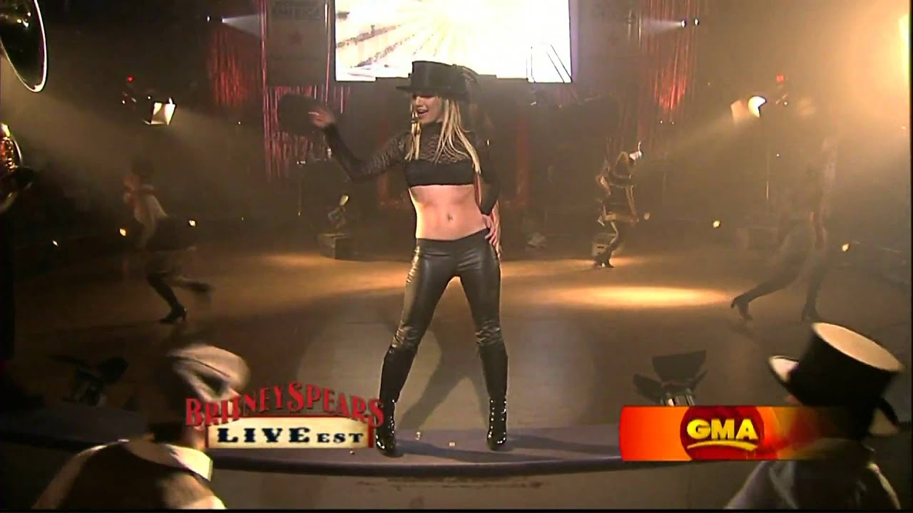 Good Morning America Watch Live : Britney spears circus live on good morning america gma