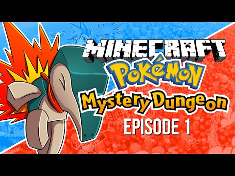 Minecraft Mods Pixelmon Mystery Dungeon! Episode 1 (Minecraft Pokemon Mod)
