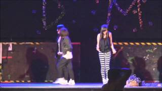 Hiphop show - Dancing Moment 2011 single party