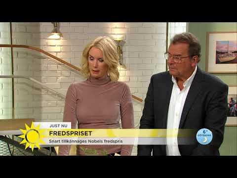 """De har chans att få fredspriset – """"oerhört starkt påtryckningsmedel"""" - Nyhetsmorgon (TV4)"""