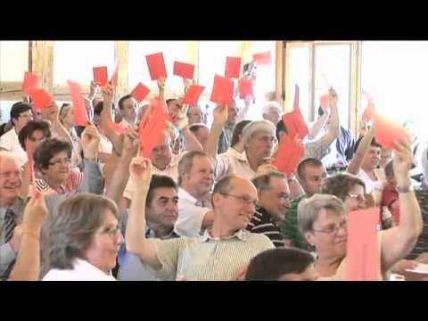 Ankündigung Gründung der BDP Schweiz in Glarus - 2008