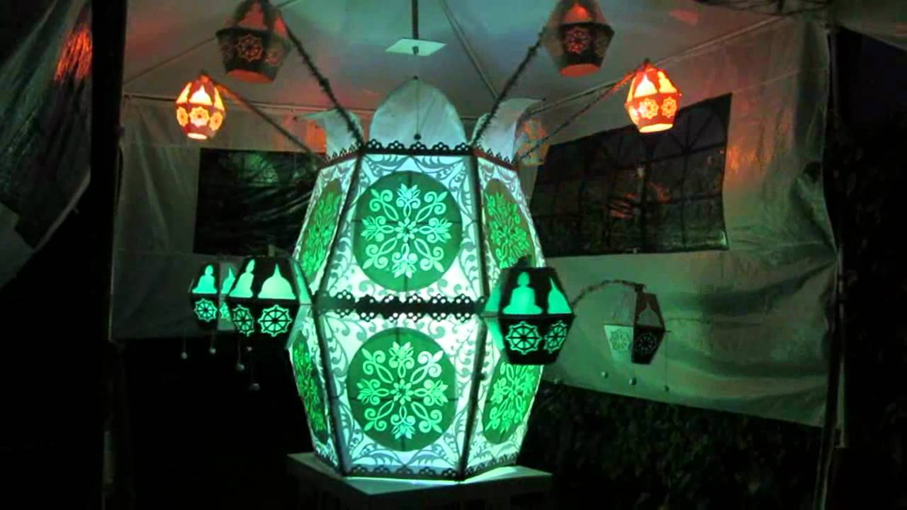 Bracknell Vesak Lantern June 2012 - YouTube Vesak Kudu Designs
