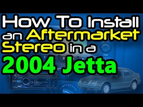 04 Jetta TDI Stereo Replacement