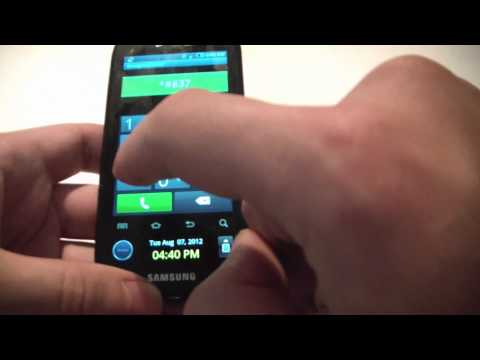 How To Bypass A Samsung Galaxy S Continuum Activation Screen