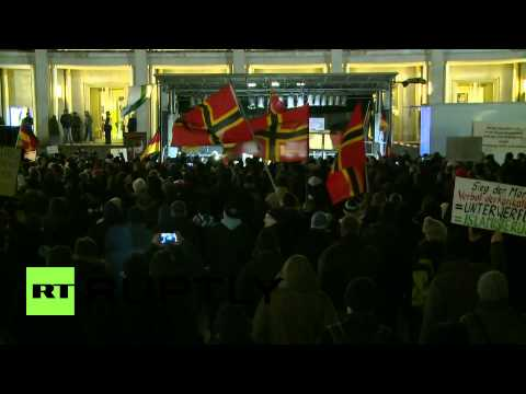 Germany: LEGIDA slam Merkel's sanctions against Russia