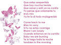 La Factoria- Perdoname [Lyrics]