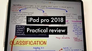 An honest practical review of the iPad pro 2018| Paperless Student