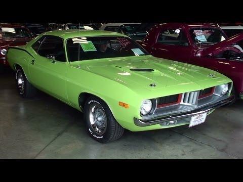 700 HP 1973 Plymouth Cuda 426 Hemi Mopar Muscle Car