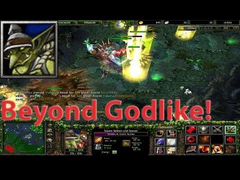 DoTa 6.83d - Miner, Goblin Techies ★ Beyond GODLIKE! #2