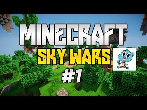 Minecraft SkyWars #1 Ja I Kolega Żużel ;)