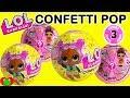 LOL Surprise Dolls Confetti Pop Series 3