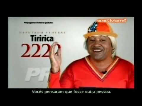 TODAS PROPAGANDAS DE TIRIRICA DEPUTADO FEDERAL 2222 -16/09/2010