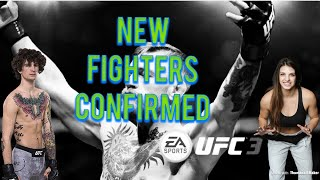 EA SPORTS UFC 3 NEW FIGHTERS COMING SOON
