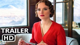 MURDЕR ON THE ΟRIENT EXPRЕSS Official Trailer (2017) Daisy Ridley, Johnny Depp, Mystery Movie HD
