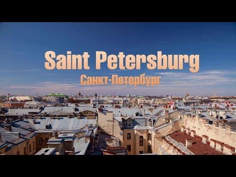 Saint Petersburg motion timelapse  / Sightseeing in St. Petersburg, Russia