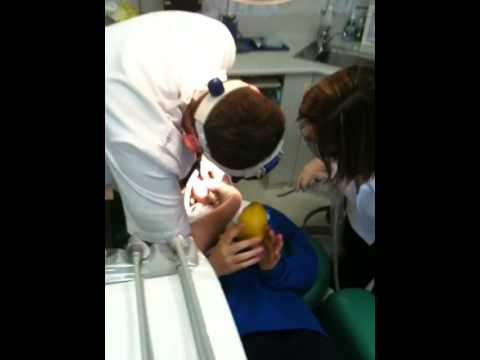'gently Squeeze The Ball,' Said The Dentist video