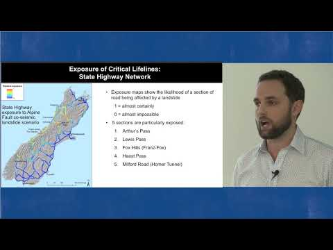 AF8 Science Talk - Impacts of an Alpine Fault Quake