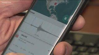 Tennessee earthquake felt in Georgia