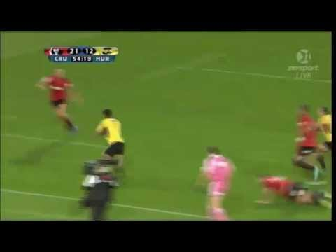 Julian Savea brushes off Israel Dagg | Super Rugby Video Highlights - Julian Savea brushes off Israe