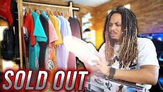 THESE SOLD OUT INSTANTLY !!! SNEAKER AND CLOTHING HAUL JORDAN, BBC, ICECREAM, AND PLEASURES !