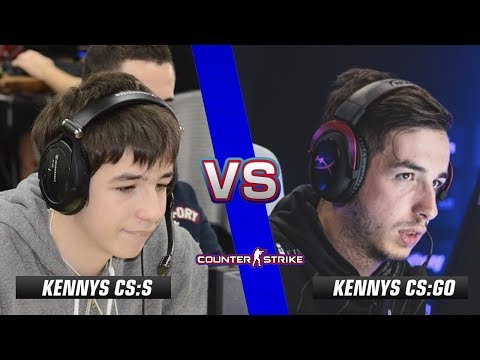 kennyS CS:S vs kennyS CS:GO