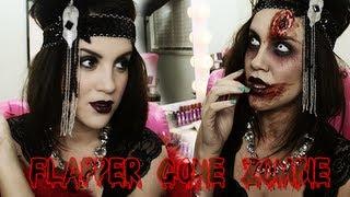 Halloween Look: Flapper Gone Zombieeee 09:26