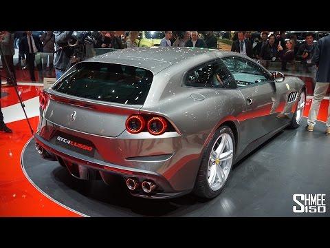 FIRST LOOK: Ferrari GTC4Lusso - Geneva 2016