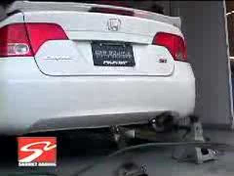 Skunk2 Mega Power R Exhaust for the 07 Honda Civic Si Sedan