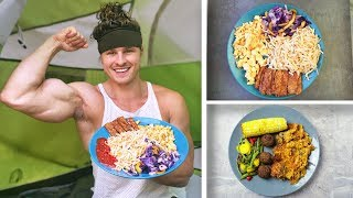 WHAT I ATE TODAY FOR VEGAN MUSCLE (HIGH PROTEIN)