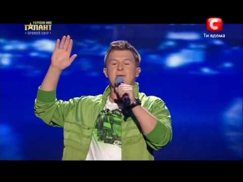 Жека Руденко Rap Речитатив Финал Украина мае талант 5 18.05.13
