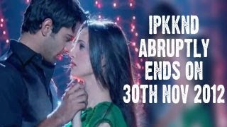 Arnav Khushi's ISS PYAAR KO KYA NAAM DOON ABRUPTLY ENDS on 30th November 2012