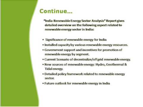 Bharat Book Presents: India Renewable Energy Sector Analysis