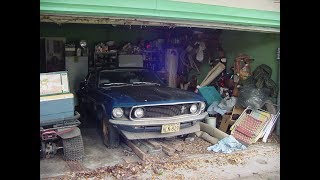 1969 Boss 302 Mustang Barn Find - 196 Miles - 198 miles after clean up
