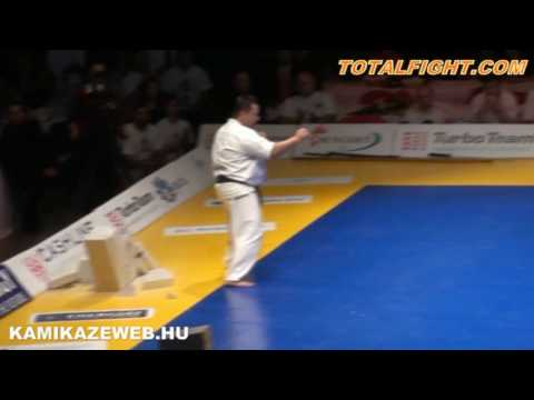 Sensei Brezovai Sándor Kyokushin Demonstration  - All Kyokushin Karate World Tournament Image 1