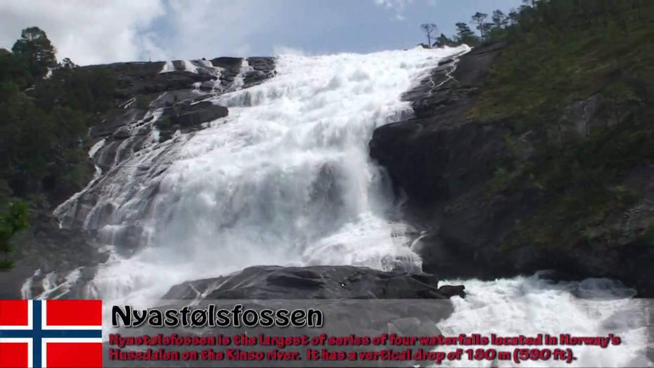 Waterfalls Videos hd Waterfalls Norway hd