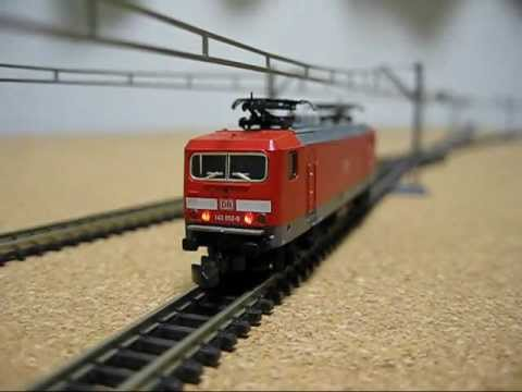 Maerklin mini-club DIGITAL 143 052-9 mit DE25x4szr